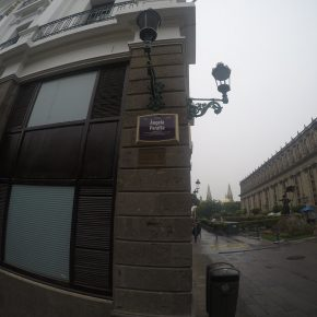 La calle Ángela Peralta: literalmente, una calle